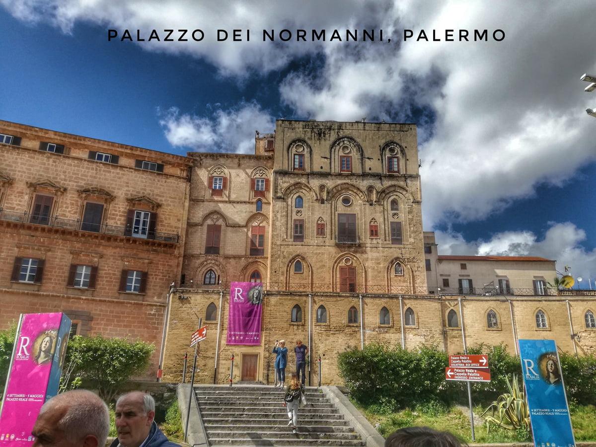 visite guidate Palazzo dei normanni a Palermo